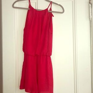 Other - Red/Coral Dressy Romper